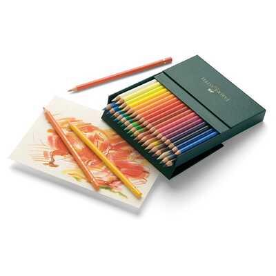 Kredki Polychromos Faber-Castell, 36 kolorów, Studio Box