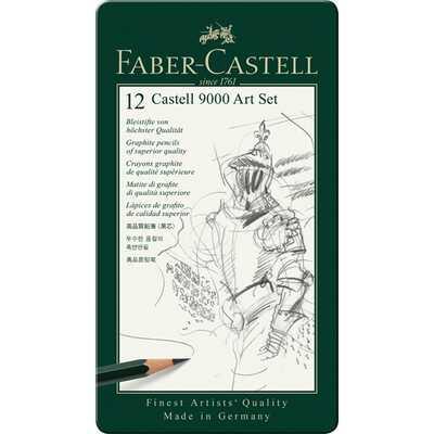 ZESTAW 12 OŁÓWKÓW CASTELL 9000 ART FABER-CASTELL