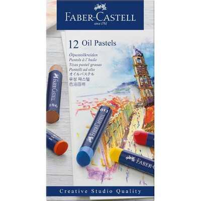 PASTELE OLEJNE CREATIVE STUDIO FABER-CASTELL, 12 KOLORÓW