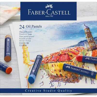 PASTELE OLEJNE CREATIVE STUDIO FABER-CASTELL, 24 KOLORY