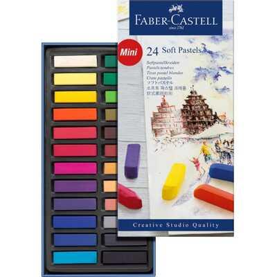 PASTELE SUCHE MINI CREATIVE STUDIO FABER-CASTELL, 24 KOLORY