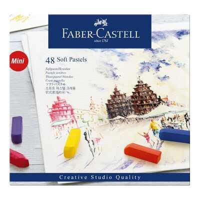 PASTELE SUCHE MINI CREATIVE STUDIO FABER-CASTELL, 48 KOLORÓW