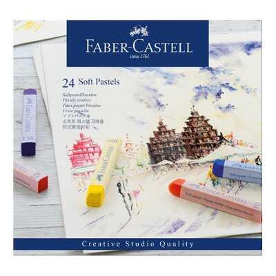 PASTELE SUCHE CREATIVE STUDIO FABER-CASTELL, 24 KOLORY