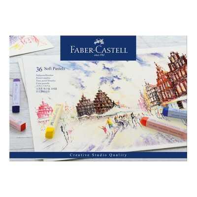 PASTELE SUCHE CREATIVE STUDIO FABER-CASTELL, 36 KOLORÓW