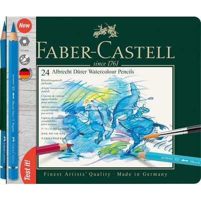 KREDKI AKWARELOWE ALBRECHT DURER FABER-CASTELL, 24 KOLORY