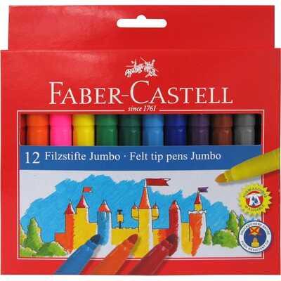 Flamastry Jumbo Faber-Castell