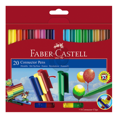 Flamastry Connector Faber-Castell