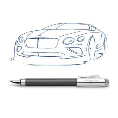 PIÓRO WIECZNE GRAF VON FABER CASTELL FOR BENTLEY, TUNGSTEN GREY