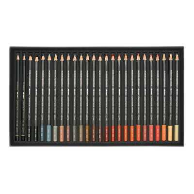 Kredki akwarelowe Caran d'Ache Museum Aquarelle, 76 kolorów + 2 ołówki