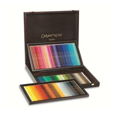 Kredki Pablo Caran d'Ache, 120 kolorów w drewnianej kasecie