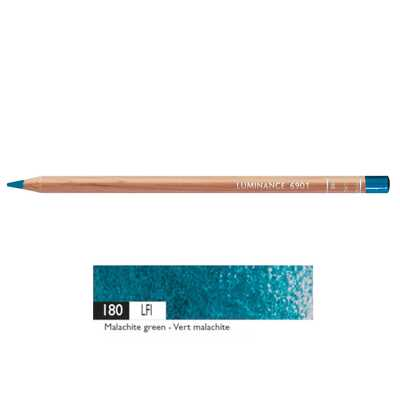 Kredka Caran d'Ache Luminance 6901, 180 Malachite Green - Malachitowa Zieleń