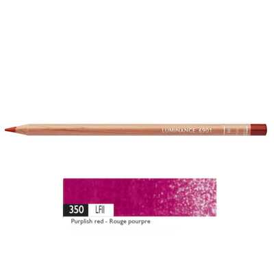 Kredka Caran d'Ache Luminance 6901, 350 Purplish Red - Purpurowa Czerwień