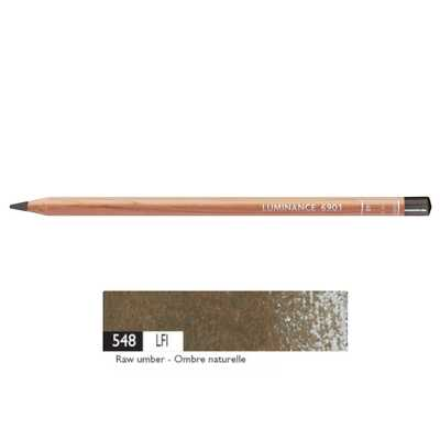 Kredka Caran d'Ache Luminance 6901, 548 Raw Umber - Czysta Umbra