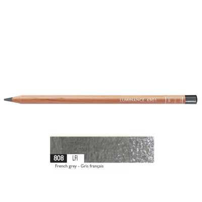 Kredka Caran d'Ache Luminance 6901, 808 French Grey - Francuska Szarość