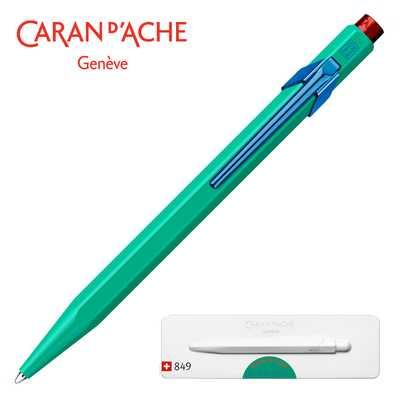 Długopis 849 Caran d'Ache Claim Your Style #2, kolor Veronese Green