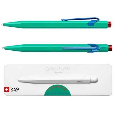 Długopis Caran d'Ache 849 Claim Your Style #2, kolor Veronese Green