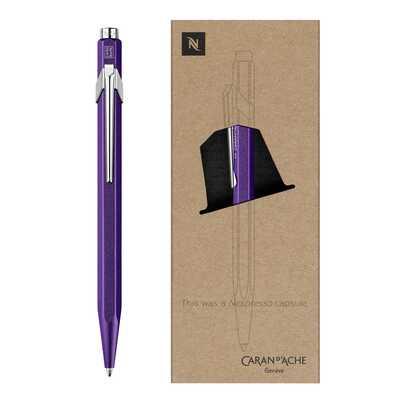 Długopis 849 Caran d'Ache Nespresso Edycja 3, Arpeggio fioletowy