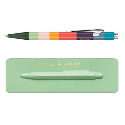 Długopis 849 Caran d'Ache Paul Smith Edycja #3, kolor Pistachio Green