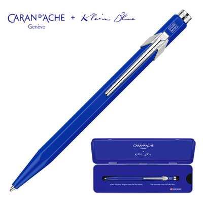 Długopis 849 Caran d'Ache z limitowanej kolekcji Klein Blue