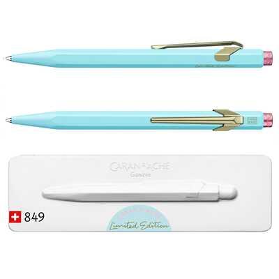 Długopis Caran d'Ache 849 Claim Your Style #2, kolor Bluish Pale