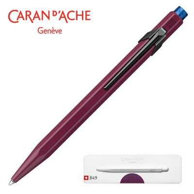 Długopis Caran d'Ache 849 Claim Your Style #2, kolor Burgundy