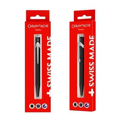 Długopis Caran d'Ache 849 Gift Box, czarny