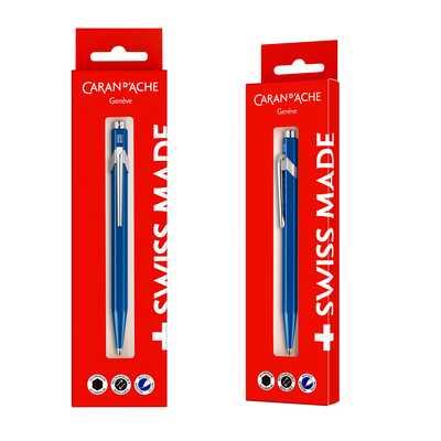 Długopis Caran d'Ache 849 Gift Box, niebieski