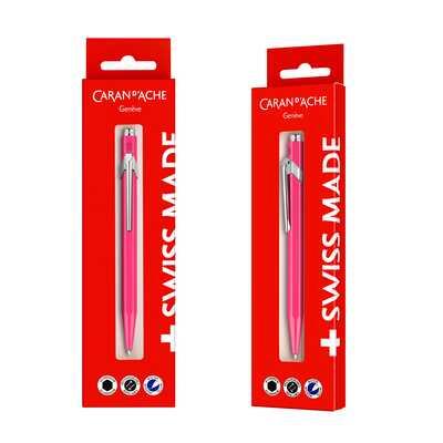 Długopis Caran d'Ache 849 Gift Box, różowy
