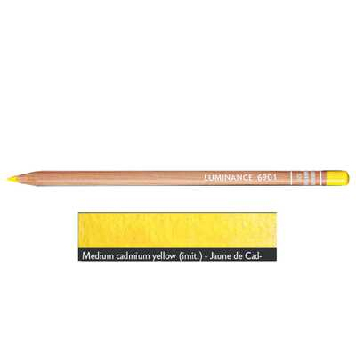 Kredka Caran d'Ache Luminance 6901, 520 Cadmium Yellow - Żółty Kadm