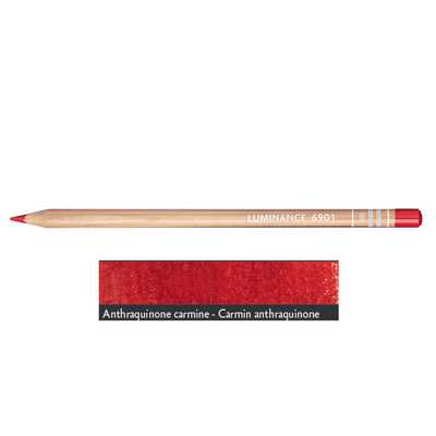 Kredka Caran d'Ache Luminance 6901, 580 Anthraquinone Carmine - Karmin Antrachinonowy