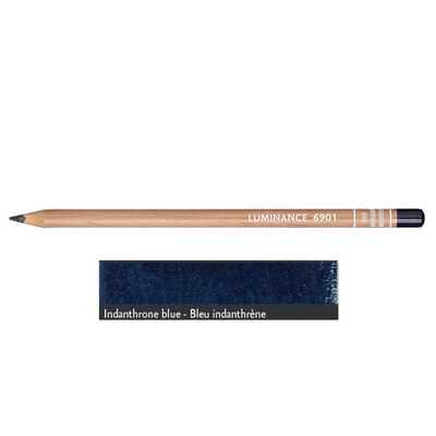 Kredka Caran d'Ache Luminance 6901, 649 Indanthrone Blue - Błękit Indantrenowy