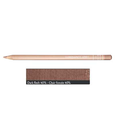 Kredka Caran d'Ache Luminance 6901, 745 Dark Flesh 40% - Ciemny Cielisty 40%