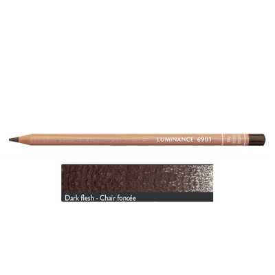 Kredka Caran d'Ache Luminance 6901, 748 Dark Flesh - Ciemny Cielisty