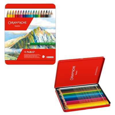 Kredki Pablo Caran d'Ache, 18 kolorów