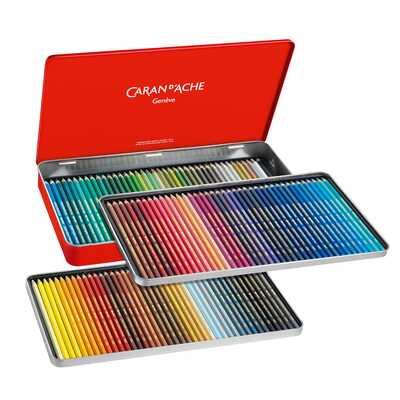 Kredki Supracolor Soft Caran d'Ache, 120 kolorów