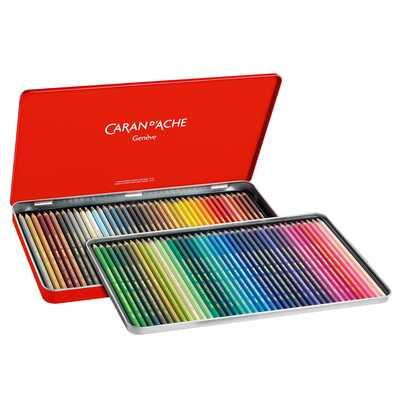 Kredki Supracolor Soft Caran d'Ache, 80 kolorów