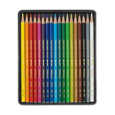 Kredki akwarelowe Prismalo Aquarelle Caran d'Ache, 18 kolorów