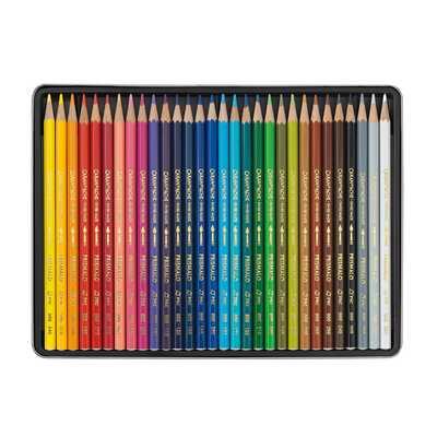 Kredki akwarelowe Prismalo Aquarelle Caran d'Ache, 30 kolorów