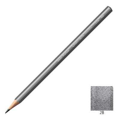 Ołówek Grafwood Caran d'Ache, 2B