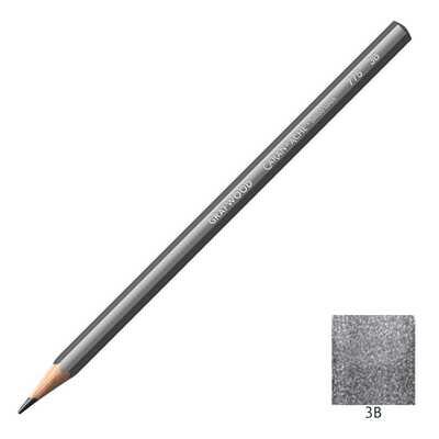 Ołówek Grafwood Caran d'Ache, 3B
