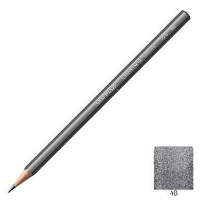 Ołówek Grafwood Caran d'Ache, 4B