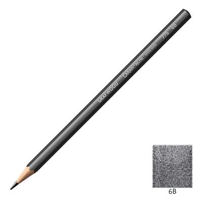 Ołówek Grafwood Caran d'Ache, 6B