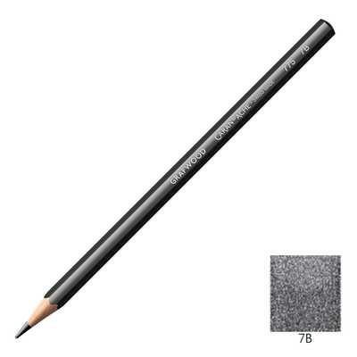 Ołówek Grafwood Caran d'Ache, 7B