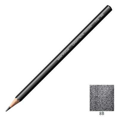 Ołówek Grafwood Caran d'Ache, 8B