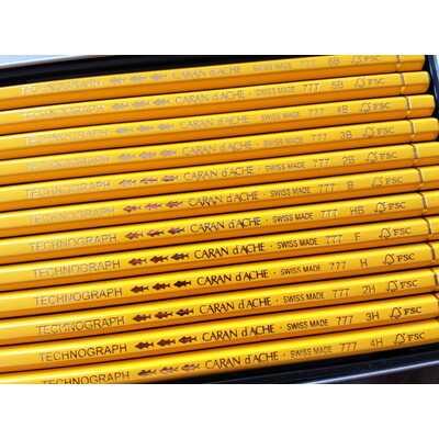 Ołówki Technograph Caran d'Ache, 12 sztuk