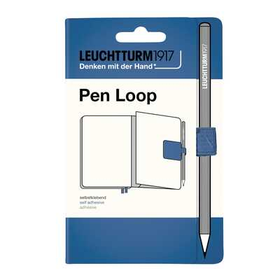 SZLUFKA NA DŁUGOPIS (PEN LOOP) LEUCHTTURM1917, MUTED COLOURS DENIM (JEANSOWA)