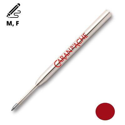 Wkład długopisowy Goliath Caran d'Ache, czerwony