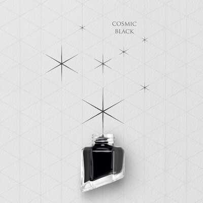 Atrament Chromatics Caran d'Ache, kolor Cosmic Black (Kosmiczna Czerń)