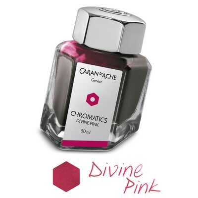 Atrament Chromatics Caran d'Ache, kolor Divine Pink (Boski Róż)