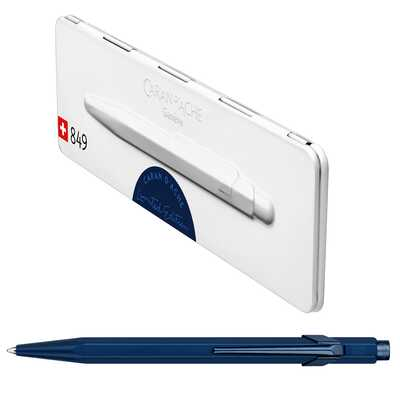 Długopis Caran d'Ache 849 Claim Your Style #3, kolor Midnight Blue